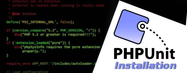 installing PHPUnit