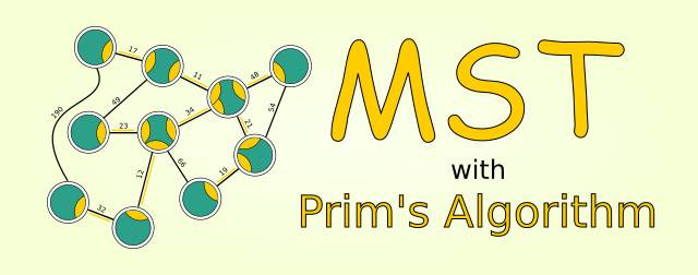 Finding Minimum Spanning Tree with Prim's Algorithm and PHP